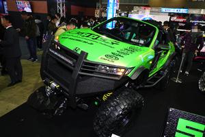 「ジムニー」と「S660」が合体したら? 魔改造なトランスフォーム・オフロード車「S-ROCK」