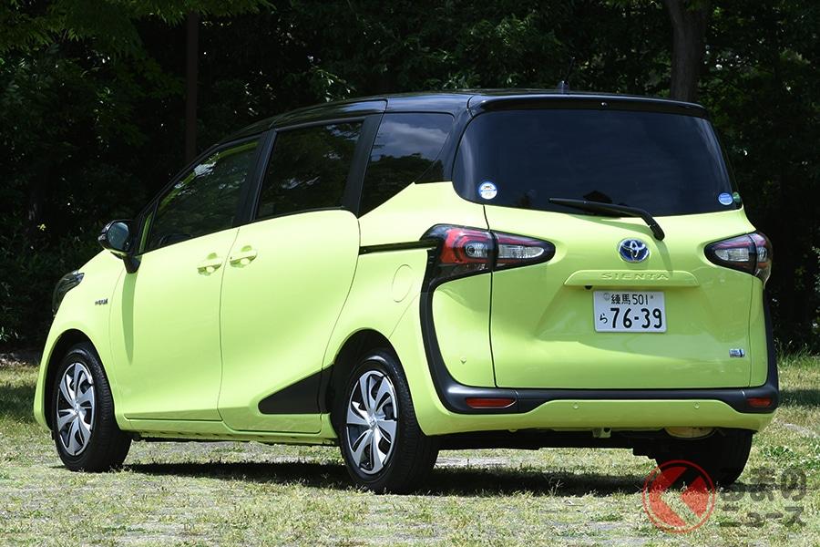 人気上昇中のトヨタ「シエンタ」! 人気グレードやオプションはどんなの?