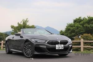 パワフルさを隠し持った、ジェントルなオープンカー BMW M850iカブリオレ試乗