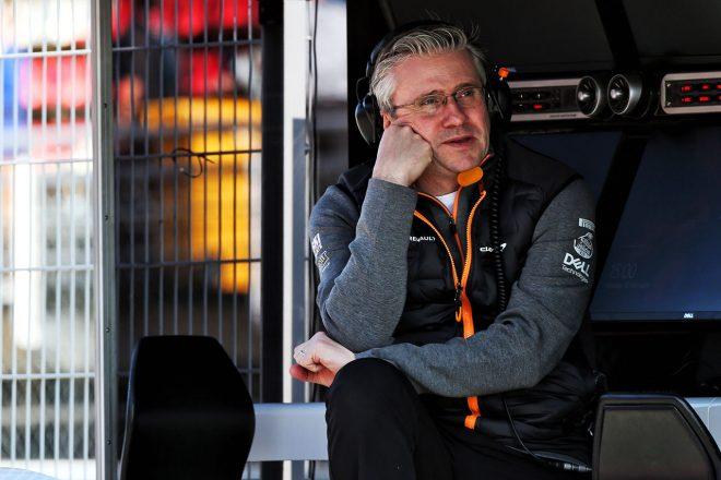 ルノーF1、2月より新シャシーテクニカルディレクターのパット・フライがチーム合流へ