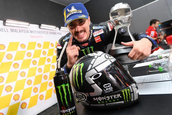 MotoGP:ビニャーレスが一番乗りで契約更新。2022年までヤマハのライダーとして継続参戦