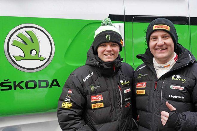 WRC:シュコダ、ペター・ソルベルグの息子オリバーと協力。ラリー・スウェーデンで共同作業開始