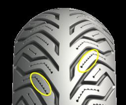 ミシュランがスクーター用タイヤ「MICHELIN CITY GRIP 2」を発表! サメの歯のようなサイプデザインを新採用