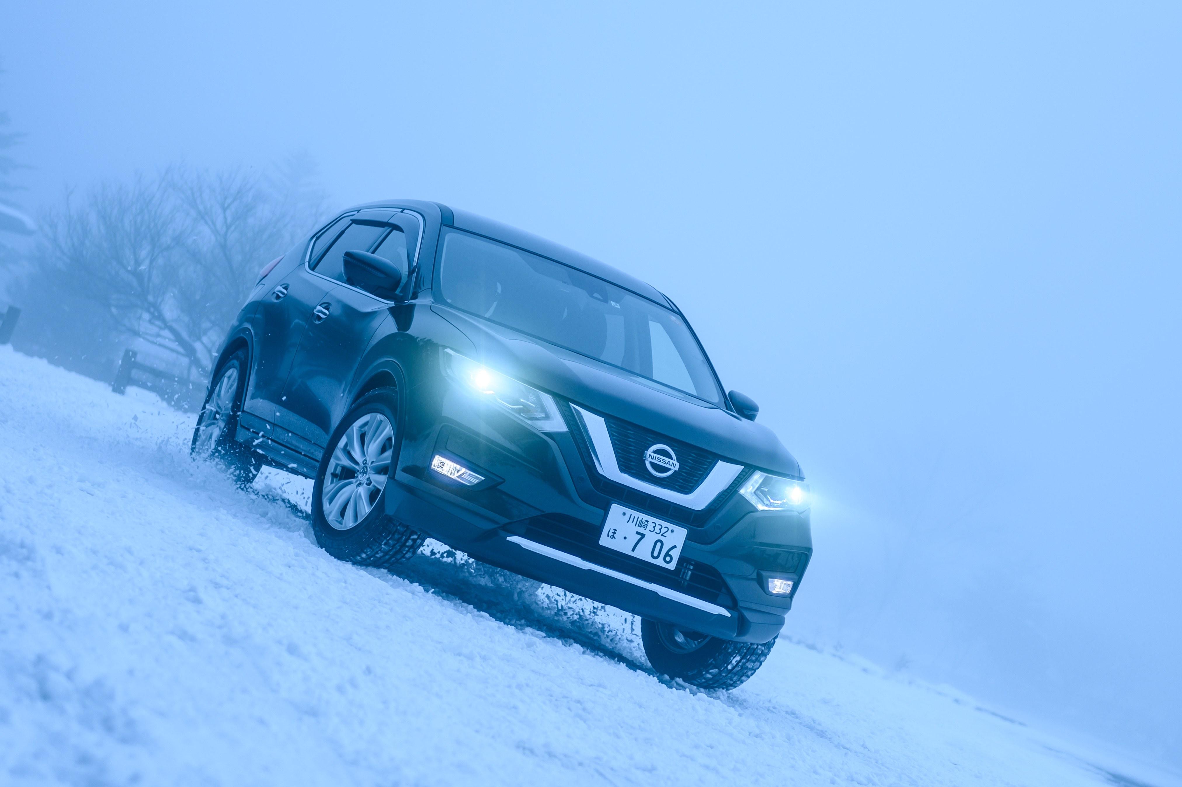 日産の人気SUVで冬を遊びたくなる理由とは? エクストレイル×ダンロップ WINTER MAXX 02