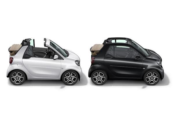 メルセデス・ベンツ 期間限定発売のスマートカブリオ特別仕様車の予約開始