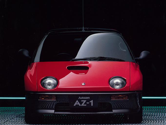 ガルウイング! ミッドシップ!! MTのみ!!! 絶滅危惧車のAZ-1はクセがすごい!