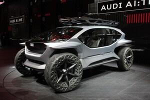 SF映画さながらのコンセプトカー「AIトレイルクワトロ」ほかフランクフルトショーで登場したアウディの注目モデル10選
