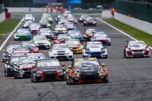 TCR EU第3戦:スパ大会はアクシデント続発。土曜レース1では複数回横転の大クラッシュも