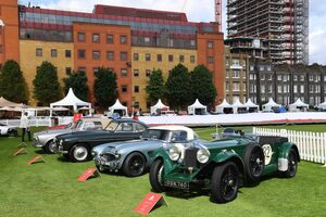 シティを舞台にした華やかなコンクール・デレガンス、ロンドン・コンクールを彩った名車たち