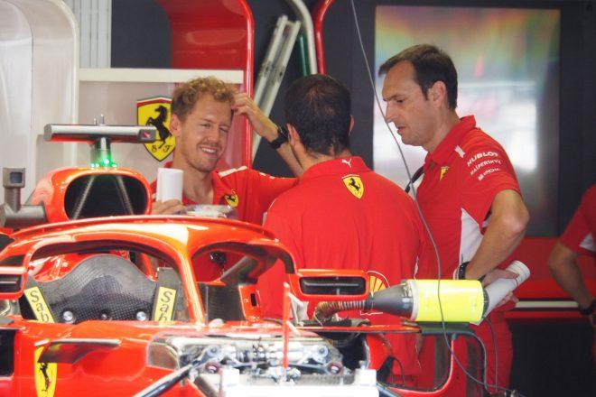 【ブログ】地元レースでスタッフを鼓舞するベッテルの人心掌握術/F1イタリアGP現地情報