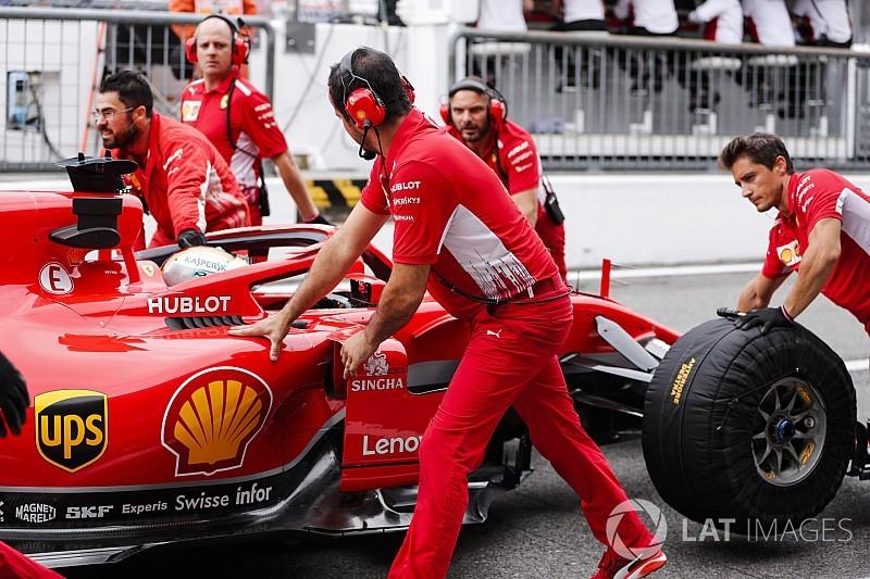 イタリアGPフリー走行2回目:ベッテルが首位でフェラーリ1-2。エリクソンはDRSトラブルで大クラッシュ