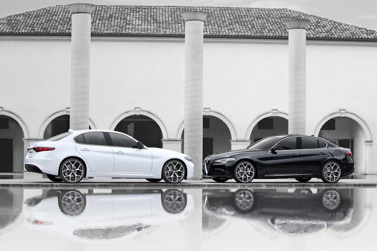 アルファロメオ ジュリアに50台限定の「モノクロームエディション」を追加。車両価格は530万円