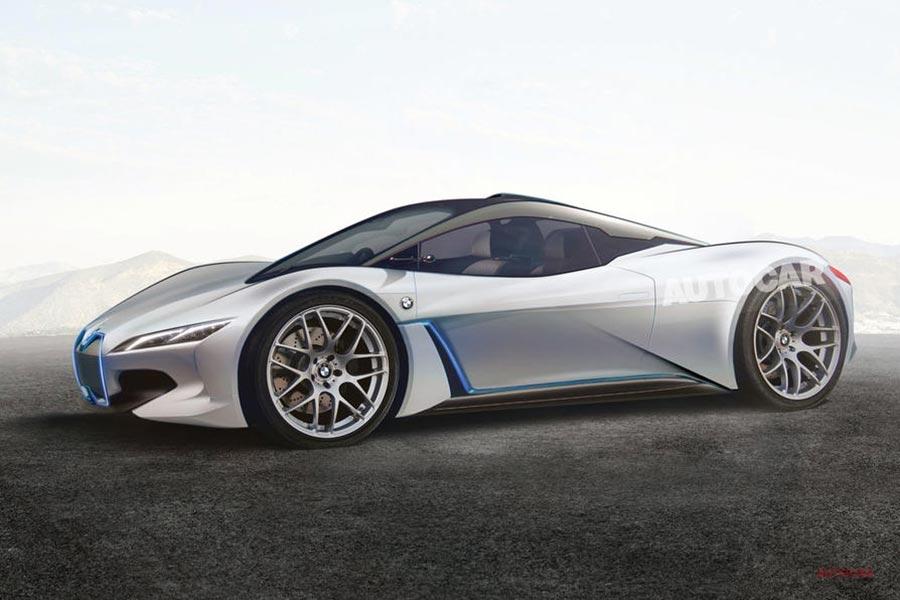 次期BMW i8(2) 6気筒+モーターで600ps? ハイブリッド案 そのライバルは?