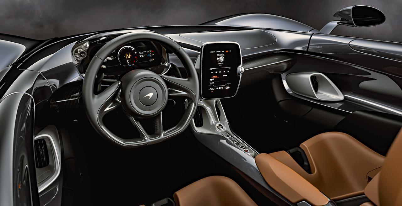 マクラーレンの最新モデルは、圧倒的な性能を誇るロードスターの「エルバ」