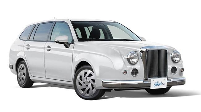 光岡自動車、「Ryugi(リューギ)」に特別仕様車「Ryugi EX」、「Ryugi WAGON EX」を設定