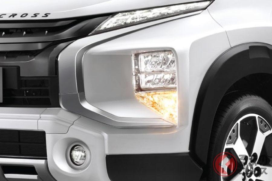 SUV風な三菱 新型「エクスパンダークロス」登場! 元祖SUV風ミニバン「デリカD:5」との違いとは