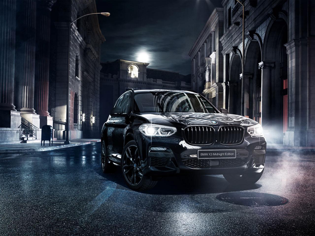 """コンセプトは""""都会のナイトドライブ""""! BMW X3に130台の限定車「ミッドナイト・エディション」が登場"""