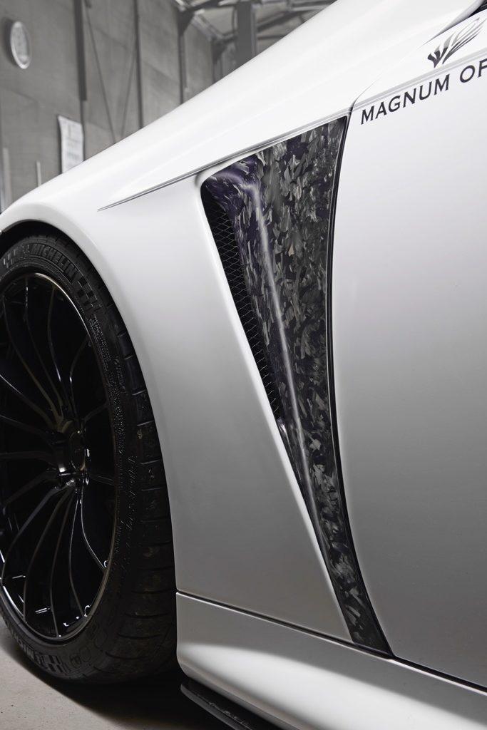 「限定10セット&275万円のレクサスLC500最高峰エアロシステムに迫る!」新時代のカーボン技術を投入したバリスの野心作