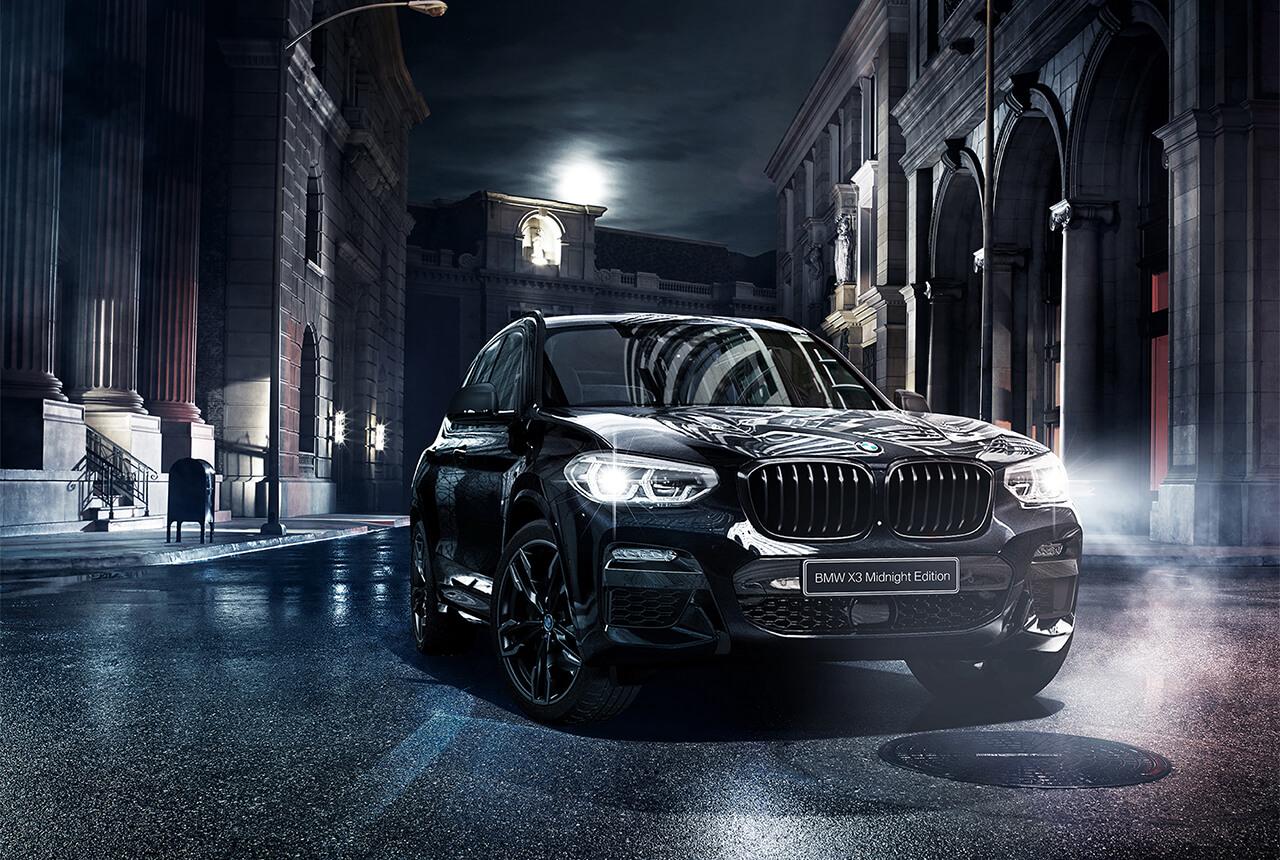 名前の通り外観は漆黒! 「BMW X3」の限定車「ミッドナイト・エディション」が発売!