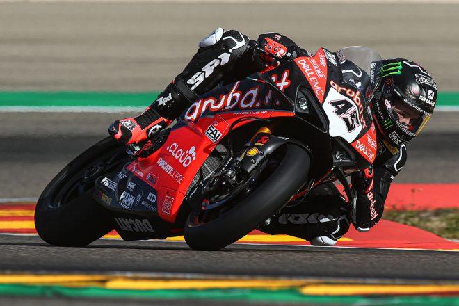 SBKウインターテストがスタート。元MotoGPライダーのレディングが2日間で最速、王者レイは3番手で終える