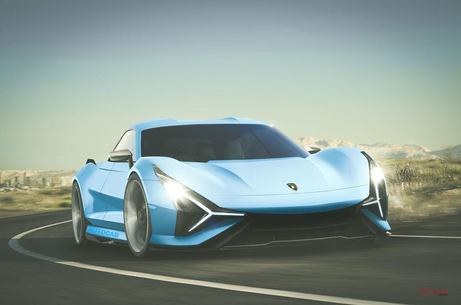 ランボルギーニ 第4のモデルは2+2シーターGT 電気自動車になる可能性も