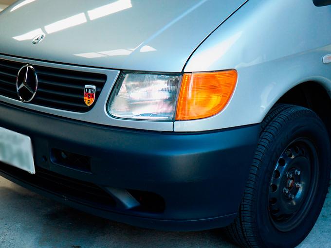 ちょいレトロな車好きが社用車に選んだのは、あえてチープにしたメルセデス・ベンツ Vクラス