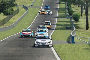 TCRオーストラリア:eシリーズ第2戦仮想バサーストはルノー・メガーヌR.S.TCRが勝利