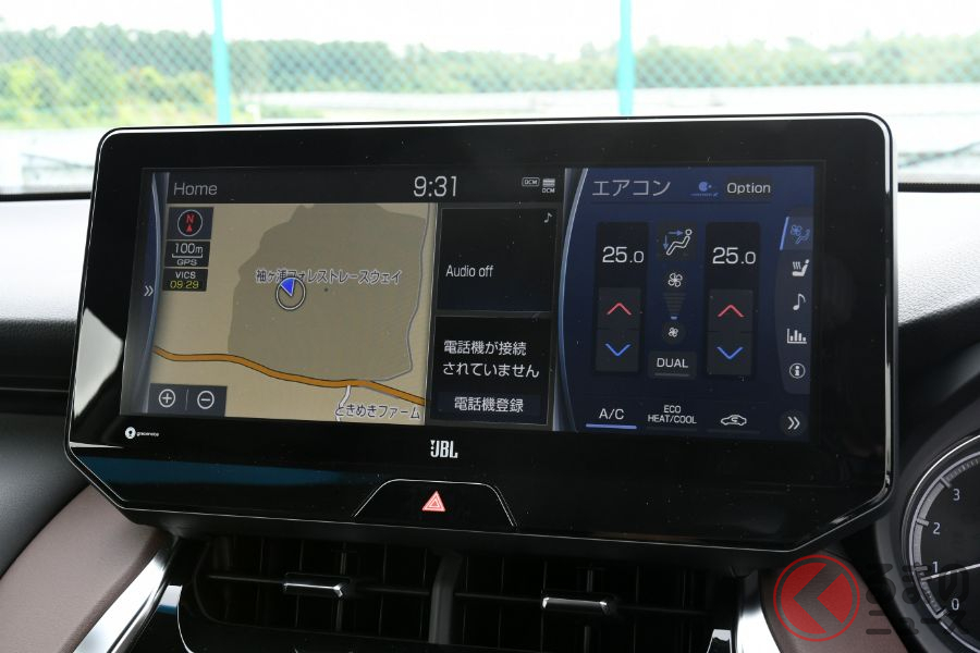 まるで高級スポーツセダン!? トヨタ新型「ハリアー」はSUVを超えた存在に?