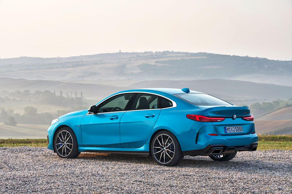BMW初のコンパクト級4ドアクーペ、「2シリーズ・グランクーペ」の受注が早くもスタート!