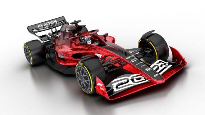 2021年F1新レギュレーションが承認。「セクシーで接近戦が可能」な新世代マシンの外観も発表に