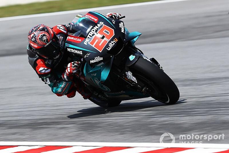 MotoGPマレーシアFP1:ヤマハ、トップ3独占。クアルタラロ、レコード破りのトップタイム