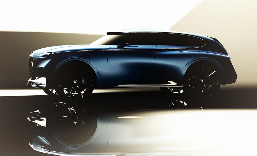 【スクープ】価格は3億円超え!? ブガッティの新作は、SUVとサルーンのクロスオーバーか?