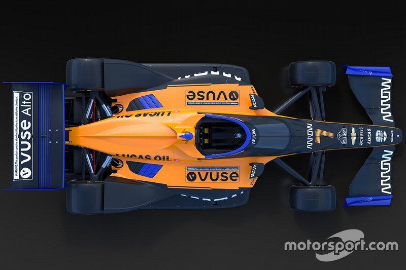 【インディカー】アロー・マクラーレンSP、2020年インディカーを戦うマシンのカラーリング公開