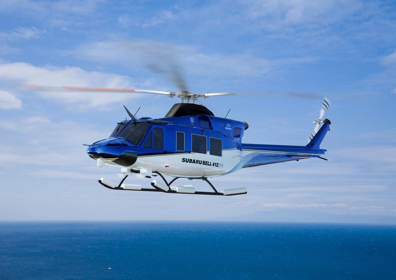 スバルがシンガポールエアショー2020に初出展! 最新ヘリコプター「SUBAR BELL 412EPX」をアジア初公開