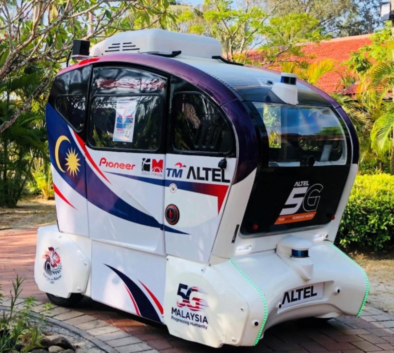 パイオニア:マレーシアにおける5G環境下の自動運転実証実験に参加