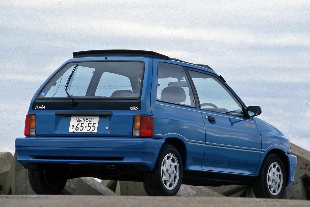 【昭和の名車 170】フォード フェスティバはイメージリーダーの「GT」が注目を集めた