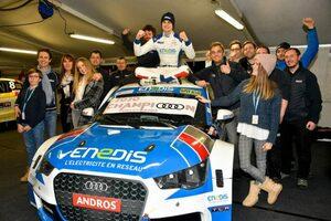 """アンドロス・e-トロフィー最終戦:WRCの""""レジェンド""""ローブ撃破したオーレリアン・パニスがEV時代の初王者に"""