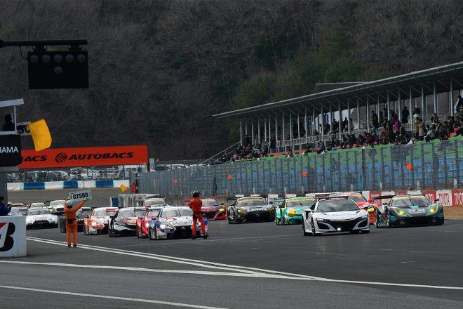 スーパーGT:3月16~17日開催の岡山公式テストエントリー公開。全44台が揃う初の機会に