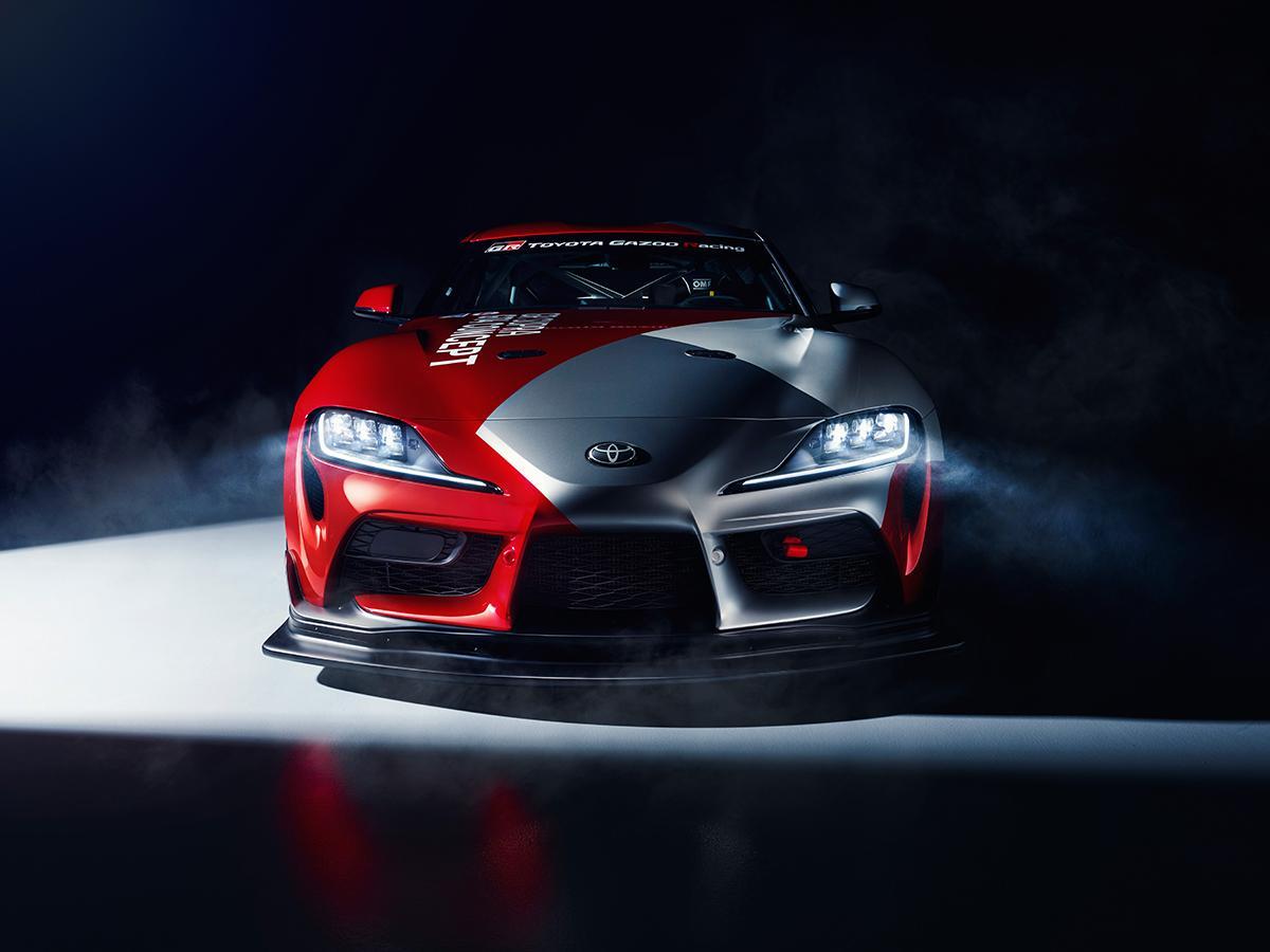 トヨタGRスープラに新たなレースマシン! GT4コンセプトカーがジュネーブショーで世界初披露