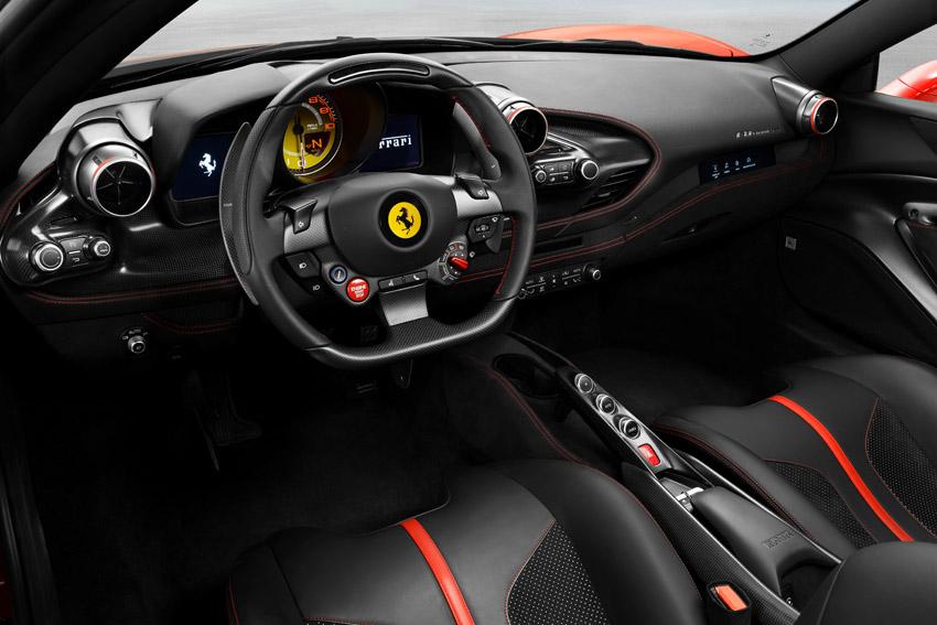 【ジュネーブモーターショー2019】フェラーリ、史上最強のV8搭載の「F8トリブート」発表