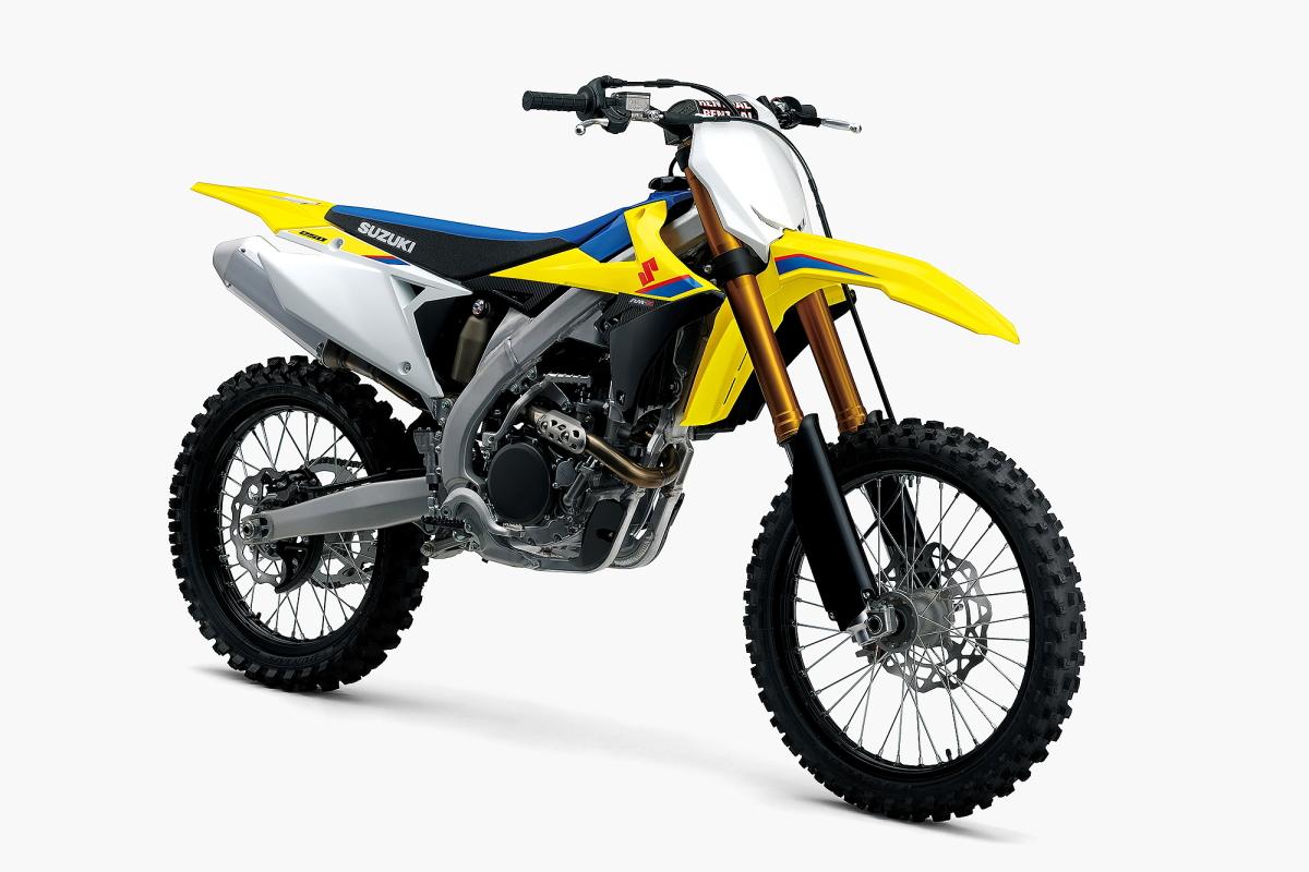 モトクロス競技用バイク スズキ『RM-Z250』がフルモデルチェンジ