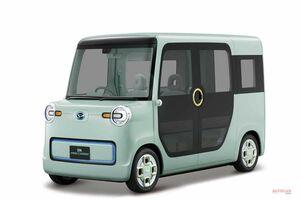 軽EVで「『ミゼット』目指す」 ダイハツDN PRO CARGO 東京モーターショー2017