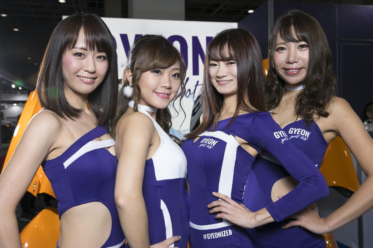 【特選キャンギャル Vol.3】大阪オートメッセを彩った美女集団・ジーオン編