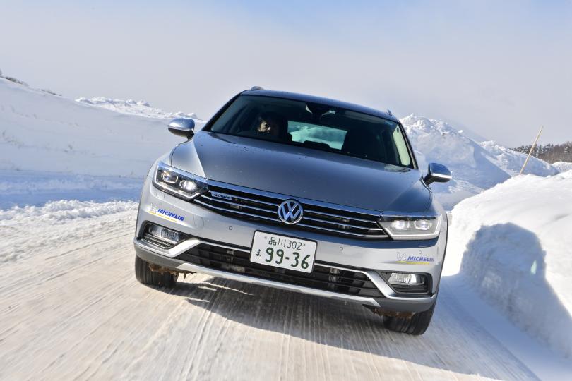 雪があってもなくても魅力的なヨンクだ!──フォルクスワーゲン パサート オールトラック雪上試乗記