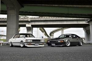 終わらない青春を謳歌する2台の61系……トヨタ・クレスタとセリカXX
