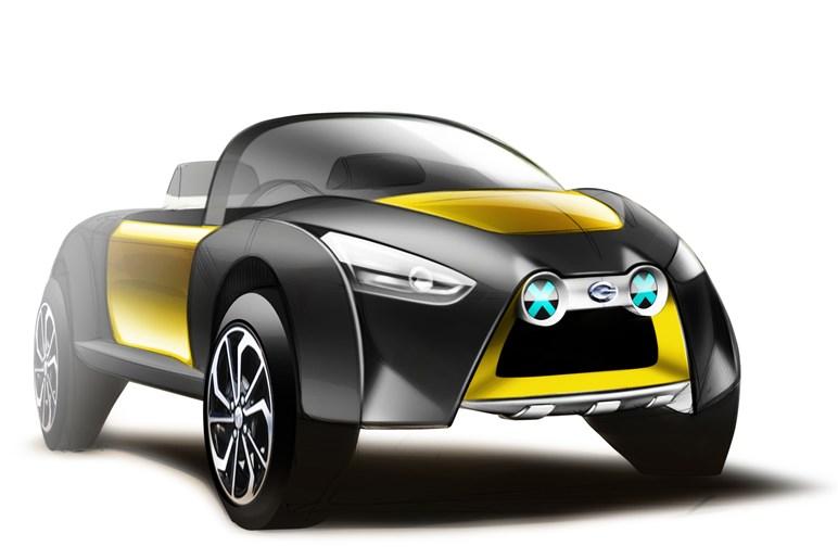 ダイハツ・東京ASにコペン&キャスト・ベースのコンセプトカーを出展