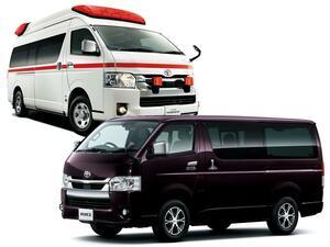 トヨタ ハイエースが安全性を高める改良を受け5月に発売。これと同時にレジアスエースは廃止に