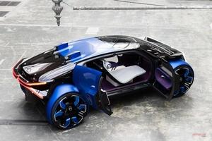 シトロエン100周年の自動運転EV 19_19コンセプト 最新版ハイドロ・サス搭載