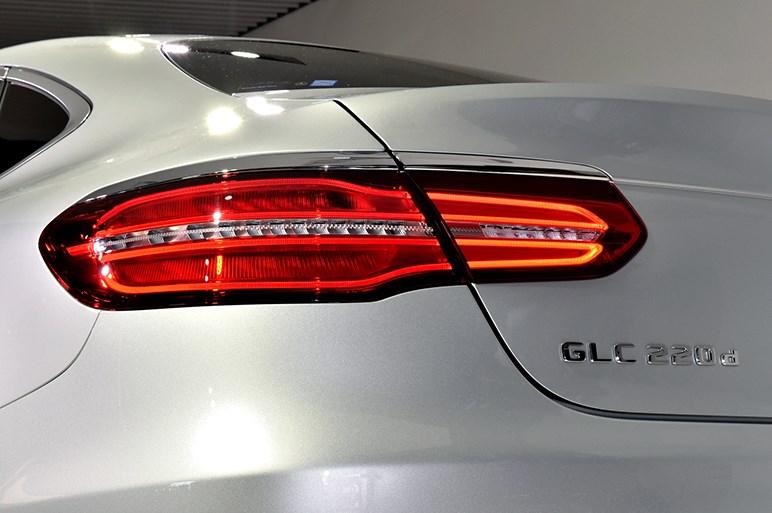 メルセデス・ベンツ GLC クーペ発売。AMGモデルやハイブリッドも設定
