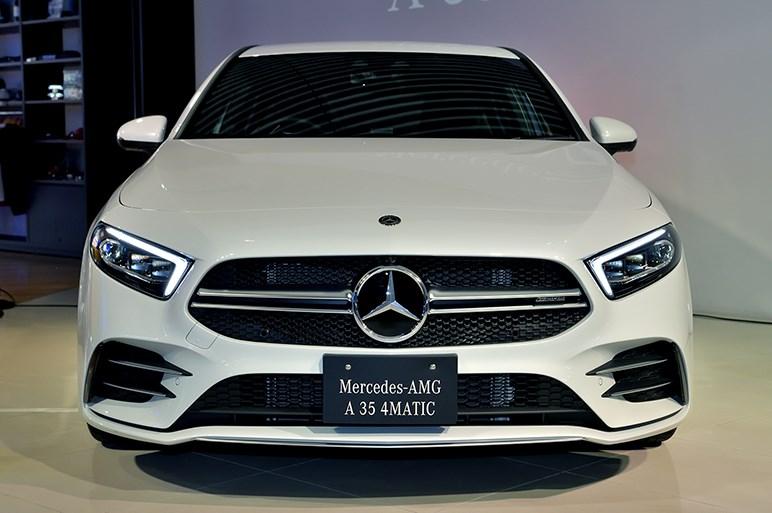 メルセデスAMGの新シリーズ「35」からエントリーモデルのA 35 4MATICを発表。価格は628万円